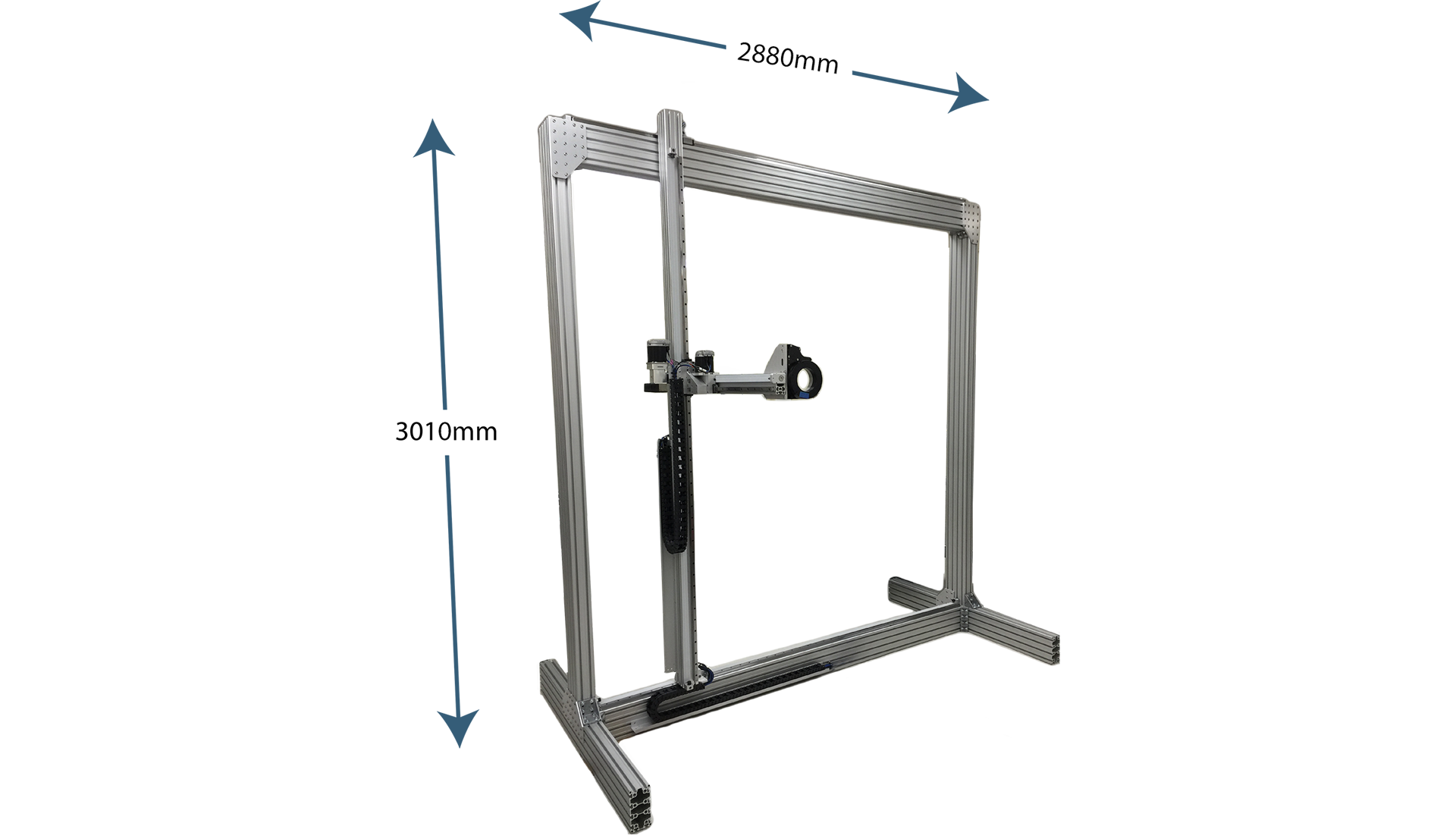 Vertical Gantry With Rotary