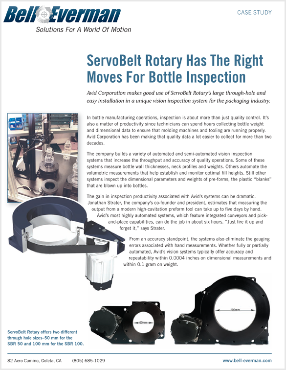 Download ServoBelt Case Study